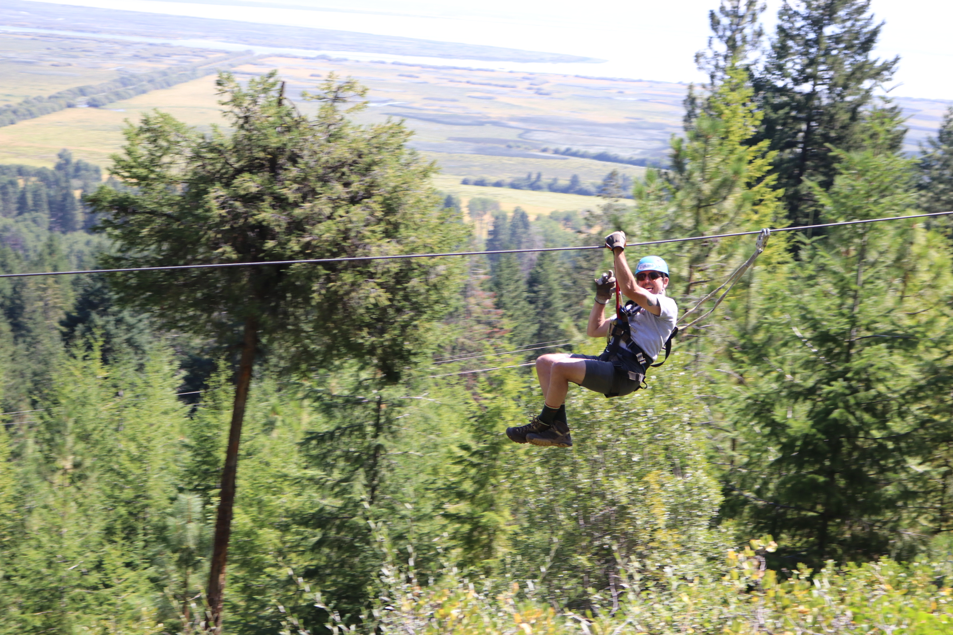 Crater Lake Zipline