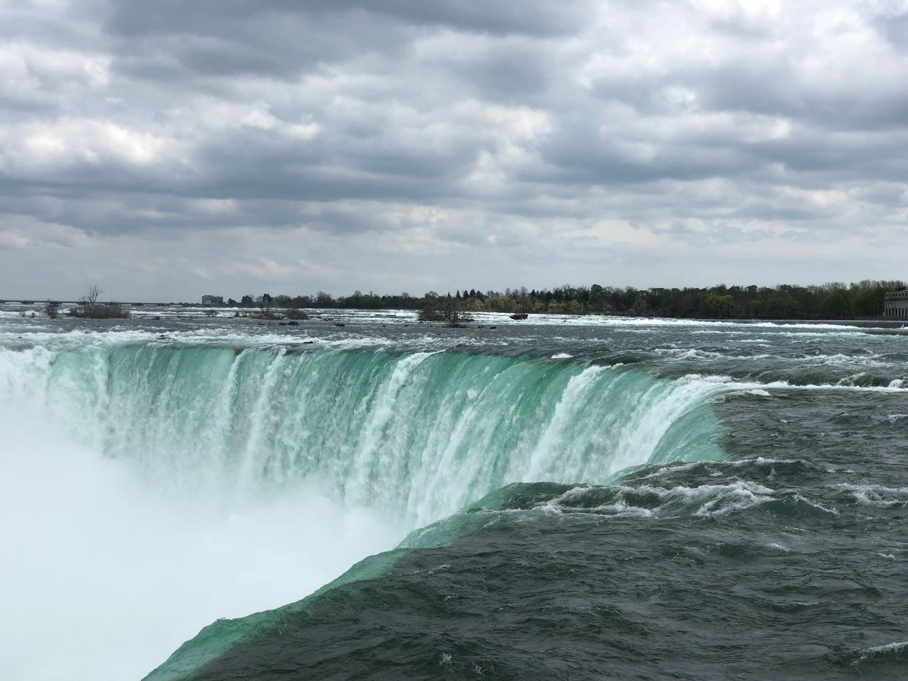 Horseshoe Falls Closeup